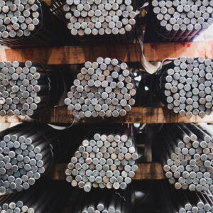 Coluna de aço